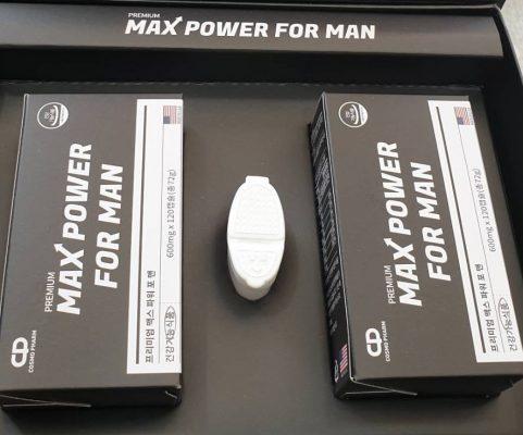 Viên Uống Max Power For Man Tăng cường sinh lý na