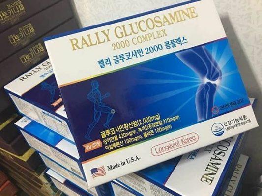 Thuốc bổ xương khớp Glucosamin  2000