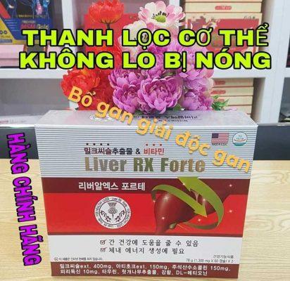Thuốc bổ Gan Liver RX Forte